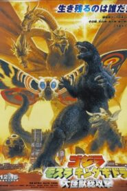 Godzilla, Mothra i król Gidorah atakują lektor pl