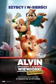 Alvin i wiewiórki: Wielka wyprawa lektor pl